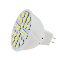 RANPO MR16 LED Spotlight 3.5w Bulb 5050 SMD AC 110V/220V Warm/Neutral/Cool White 24 LEDs