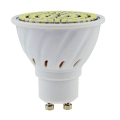 RANPO GU10 LED Spotlight 4W Bulb 3528 SMD AC 110V/220V Warm/Neutral/Cool White 80 LEDs