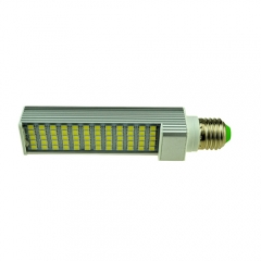 E27 85-265V 12W LED Horizontal Plug With Cover 5050 SMD Corn Light