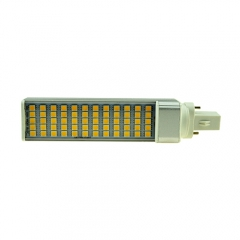 G23 85-265V 12W LED Horizontal Plug With Cover 5050 SMD Corn Light