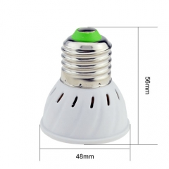 RANPO E27 LED Spotlight 4W Bulb 3528 SMD AC 110V/220V Warm/Neutral/Cool White 80 LEDs