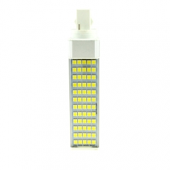 G24 85-265V 12W LED Horizontal Plug With Cover 5050 SMD Corn Light