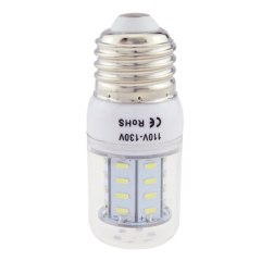 E26 3W AC 110V LED Corn Bulb 4014 SMD 36 LEDs Cool Warm White