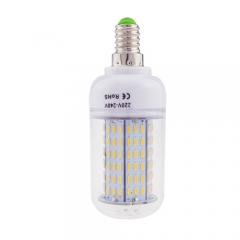 E14 6.5W AC 220V LED Corn Bulb 4014 SMD 138 LEDs Cool Warm White