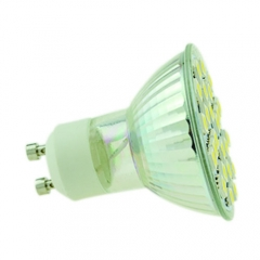 RANPO GU10 24 SMD Spotlight Downlight Bulb Lighting,20W Equivalent,Warm White 2800K,Cool White 4600K, 110V 220V