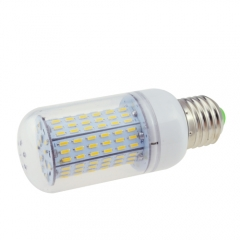 E27 6.5W AC 110V LED Corn Bulb 4014 SMD 138 LEDs Cool Warm White