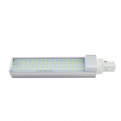 G23 85-265V 12W LED Horizontal Plug With Cover 2835 SMD Corn Light