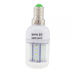 E14 3W AC 220V LED Corn Bulb 4014 SMD 36 LEDs Cool Warm White