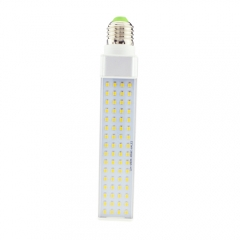 E27 85-265V 12W LED Horizontal Plug With Cover 2835 SMD Corn Light