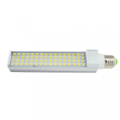 E27 85-265V 13W LED Horizontal Plug With Cover 5050 SMD Corn Light