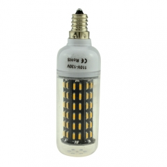 E12 5.5W AC 110V LED Corn Bulb 4014 SMD 96 LEDs Cool Warm White