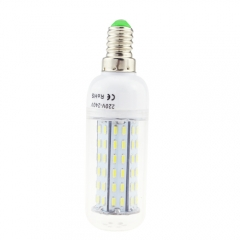 E14 5.5W AC 220V LED Corn Bulb 4014 SMD 96 LEDs Cool Warm White