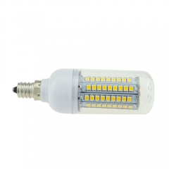 E12 18W 102 LEDS LED corn bulb 2835 SMD Warm Cool White AC110V