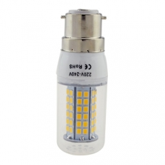 B22 12W 80 LEDS LED corn bulb 2835 SMD Warm Cool White AC220V