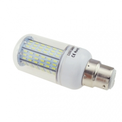 B22 6.5W AC 220V LED Corn Bulb 4014 SMD 138 LEDs Cool Warm White