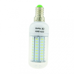 E14 4W AC 220V LED Corn Bulb 4014 SMD 72 LEDs Cool Warm White