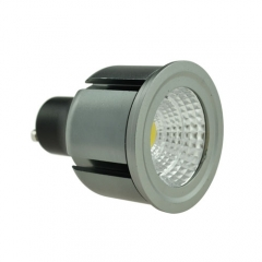 Dimmable LED COB Spotlight GU10 5W 85-265V Cool Warm Neutral White Bulb