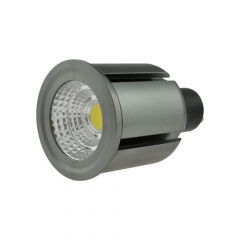 Dimmable LED COB Spotlight GU10 7W 85-265V Cool Warm Neutral White Bulb