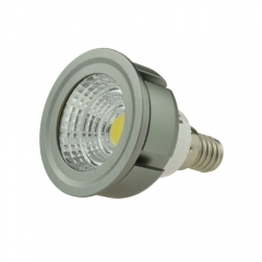 Dimmable LED COB Spotlight E14 3W 85-265V Cool Warm Neutral White Bulb