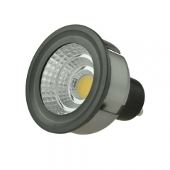 Dimmable LED COB Spotlight GU10 3W 85-265V Cool Warm Neutral White Bulb