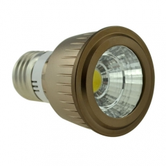 Dimmable LED COB Spotlight E27 5W 85-265V Cool Warm Neutral White Bulb