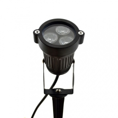 9W Outdoor Landscape LED Floodlight Lawn Lamp Cool White/Warm White/Red/Blue/Yellow Light,DC 12V ,AC 85-265V ,Garden Path Courtyard Spot Light