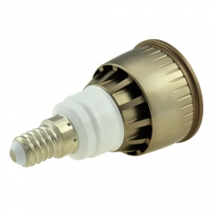 Dimmable LED COB Spotlight E14 5W 85-265V Cool Warm Neutral White Bulb