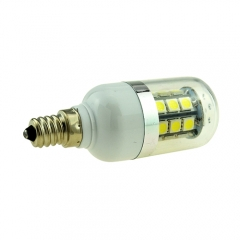 3W E12 LED Corn Light 5050 SMD 27 LEDs Lamp Bulb AC 110V Warm/Neutral/Cool White