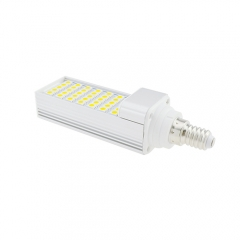 E14 7W 85-265V LED Horizontal Plug 5050 SMD Corn Light
