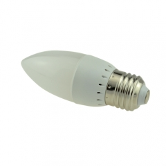 RANPO E27 3W 2835 SMD LED Chandelier Candle Bulb Warm Cool White 85-265V
