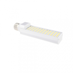 E27 85-265V 12W LED Horizontal Plug 5050 SMD Corn Light