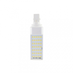 G24 7W 85-265V LED Horizontal Plug 2835 SMD Corn Light
