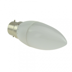 RANPO B22 3W 2835 SMD LED Chandelier Candle Bulb Warm Cool White 220V