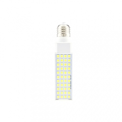 E27 85-265V 8W LED Horizontal Plug 5050 SMD Corn Light