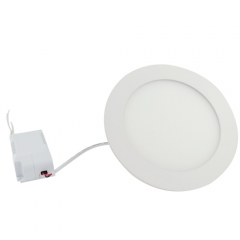 Ranpo Dimmable LED Panel Light Round 9W Warm Cool White Downlight with LED Driver AC 110V 220V