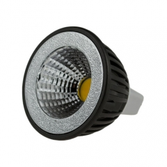 Dimmable LED COB Spotlight MR16 3W 85-265V Cool Warm White Bulb