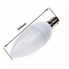 RANPO B15 3W 2835 SMD LED Chandelier Candle Bulb Warm Cool White 85-265V
