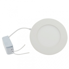 Ranpo Dimmable LED Panel Light Round 6W Warm Cool White Downlight with LED Driver AC 110V 220V