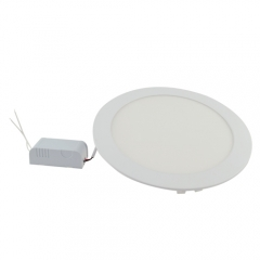 Ranpo LED Panel Light Round Dimmable 18W Warm Cool White Downlight with LED Driver AC 110V 220V