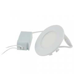 Ranpo LED Panel Light Round 3W Warm Cool White Downlight with LED Driver AC 85-265V