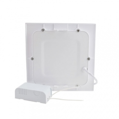 Ranpo Dimmable LED Panel Light Square 9W Warm Cool White Downlight with LED Driver AC 85-265V