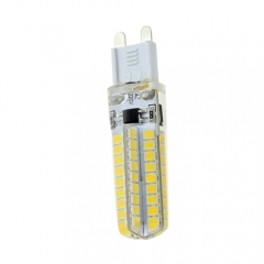 Mini Dimmable G9 9W DC 220V LED Corn Bulb 2835 SMD 72LEDs Cool Neutral Warm White Light
