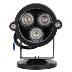 3W Outdoor Landscape RGB LED Floodlight Lawn Lamp With Cap and Base,AC 24V,AC 85-265V ,Garden Path Courtyard Spot Light