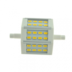 RANPO 5730 R7S Dimmable J78(78mm) 24SMD 5W LED Flood Lamp Warm Cool White 110V&220V