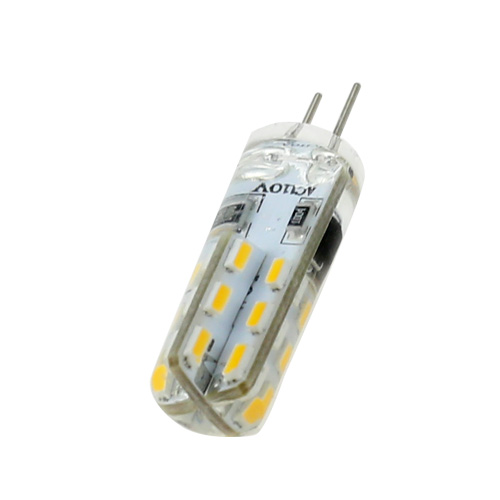 Mini G4 3W DC 12V LED Corn Bulb 3014 SMD 24LEDs Cool Neutral Warm White Light