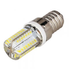 Mini E14 6W AC 220V LED Corn Bulb 3014 SMD 64LEDs Cool Neutral Warm White Light