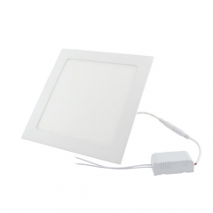 Ranpo Dimmable LED Panel Light Square 15W Warm/Cool White Downlight with LED Driver AC  110V 220V