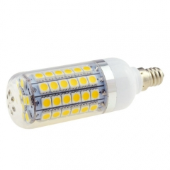 8W E12 AC 85 - 265V 5050 SMD 69 LEDs Lamp Bulb Warm/Neutral/Cool White LED Corn Light