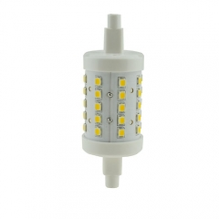 RANPO Dimmable R7S J78(78mm) 2835 SMD 4W LED Flood Corn Lamp Warm Cool White AC 110V 220V  85-265V