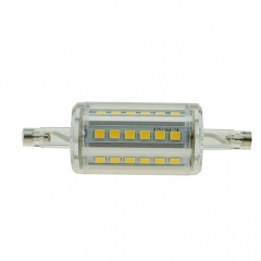 RANPO R7S J78(78mm) 2835 SMD 5W LED Flood Corn Lamp Warm White 220V